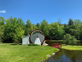 Indian Head Resort waterwheel