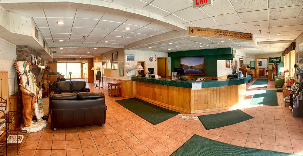 Indian Head Resort Lobby
