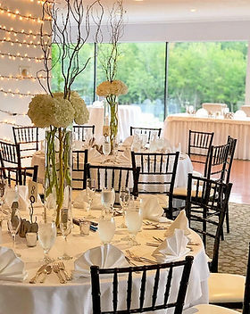 Indian Head Resort Lakeview Room Wedding