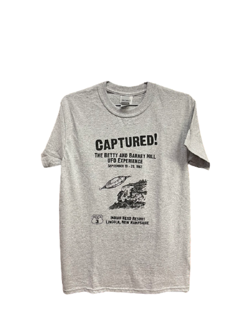 Captured! Betty & Barney Hill T-Shirt