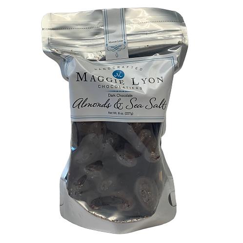 Dark Chocolate Almonds & Sea Salt Bark