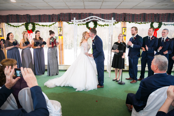Greenery Room Indoor Ceremony