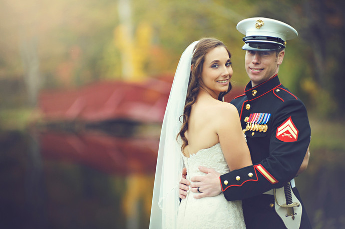 Indian Head Resort Fall Wedding