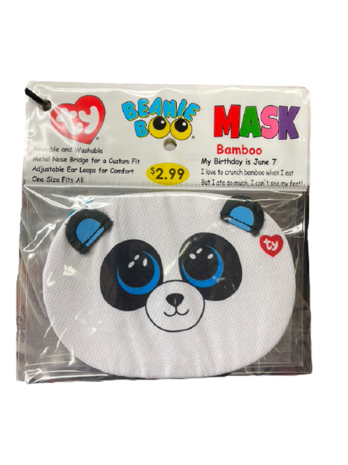Ty Kid's Face Masks