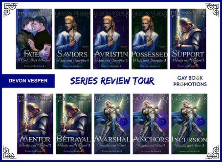 The God Jars Saga by Devon Vesper - Series Tour