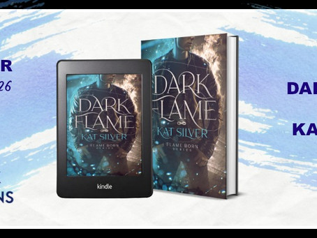 Dark Flame by Kat Silver - Blog Tour, Interview, Excerpt, Review
