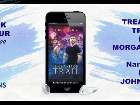 Treasure Trail by Morgan Brice - Audiobook Tour