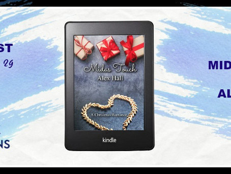 Midas Touch: A Christmas Romance by Alex Hall - Book Blast, Excerpt, Giveaway