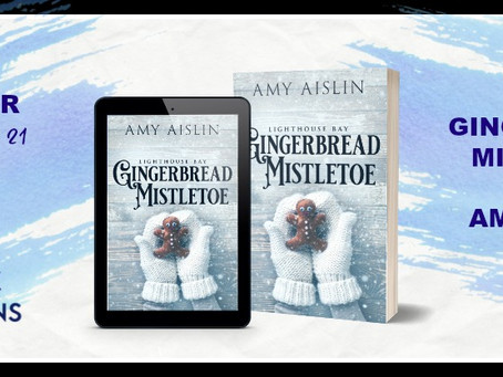 Gingerbread Mistletoe by Amy Aislin - Blog Tour, Interview, Excerpt, Giveaway
