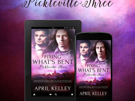 New Release: Pickleville #3 by April Kelley