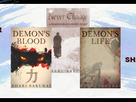 Demon's Blood Series by Shari Sakurai - Series Tour, (Demon's Blood) Excerpt, Giveaway