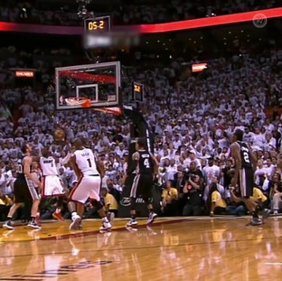 Ray Allen Tied the game