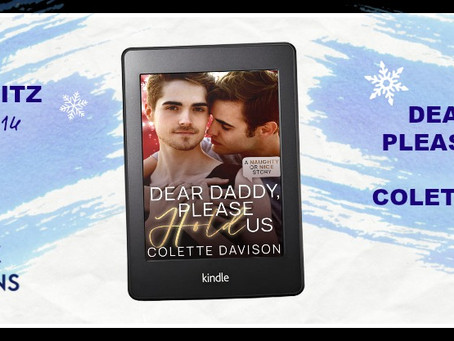 Dear Daddy, Please Hold Us by Colette Davidson - Release Blitz, Excerpt