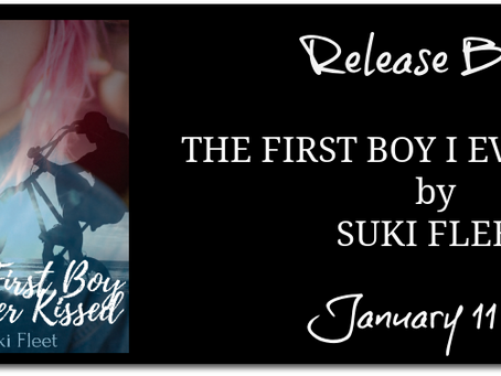 The First Boy I Ever Kissed by Suki Fleet - Release Blitz, Excerpt, Review, Giveaway