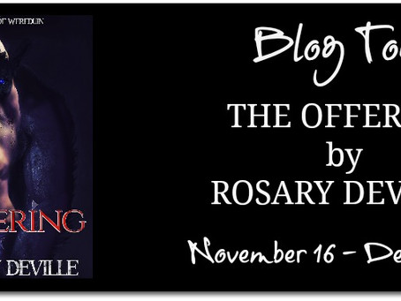 The Offering by Rosary Deville - Blog Tour, Interview, Excerpt, Giveaway