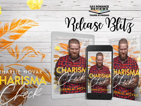Charisma Check by Charlie Novak - Release Blitz, Excerpt & Giveaway