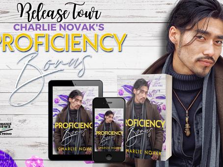 Proficiency Bonus by Charlie Novak - Release Tour, Excerpt & Giveaway