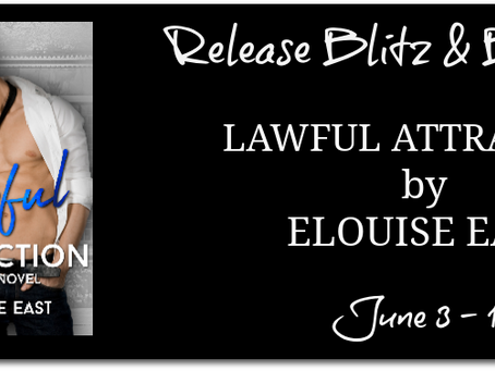 Lawful Attraction by Elouise East - Release Blitz, Excerpt, Giveaway