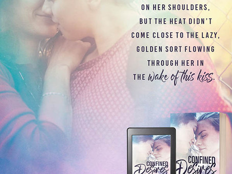 Confined Desire by Katherine McIntyre – Tour, Guest Post, Excerpt, Giveaway