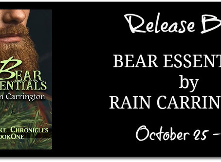 Bear Essentials by Rain Carrington - Release Blitz with Excerpt & Giveaway
