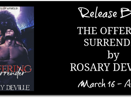 The Offering Surrender by Rosary Deville - Release Blitz, Excerpt, Giveaway