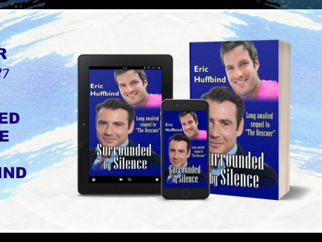 Surrounded by Silnce by Eric Huffbind - Blog Tour, Interview, Excerpt, Giveaway