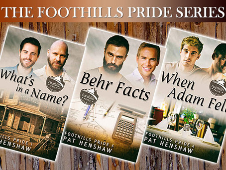 Footfalls Pride #2 by Pat Henshaw – Blog Tour with Excerpt & Giveaway