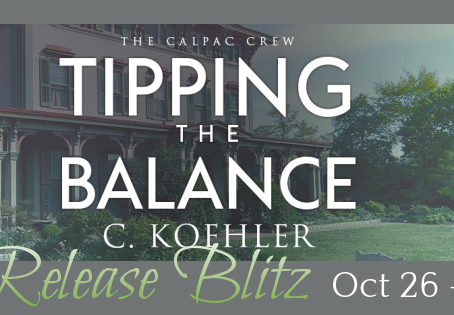 Tipping the Balance by C Koehler - Blog Tour with Excerpt & Giveaway