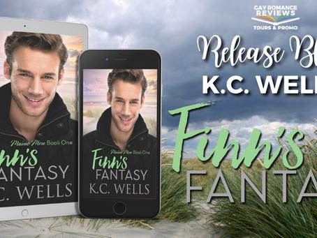 Finn's Fantasy by K.C. Wells - Release Blitz, Excerpt & Giveaway