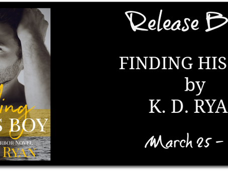 Finding His Boy (An MM Age Gap Daddy Romance) by K. D. Ryan - Release Blitz, Excerpt