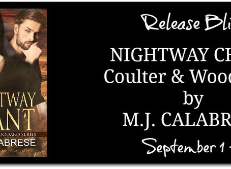 Nightway Chant by MJ Calabrese : Blitz with Excerpt & Giveaway