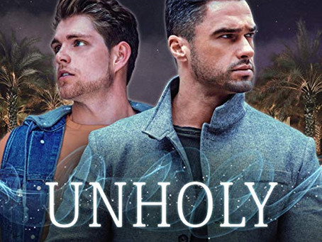 Unholy by Morgan Brice, narrated by Kale Williams - Blog Tour