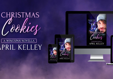 Christmas Cookies by April Kelley : Release Day