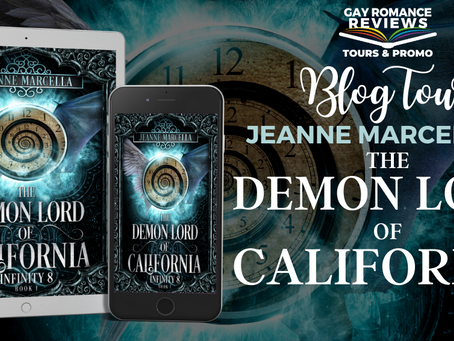 The Demon Lord of California by Jeanne Marcella - Blog Tour, Character Profile & Giveaway