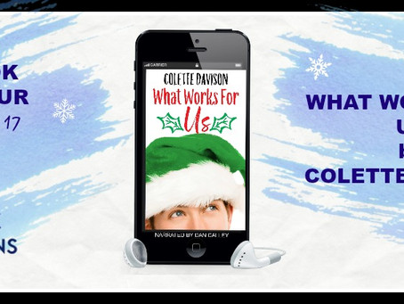 What Works for Us by Colette Davison - Audiobook Tour