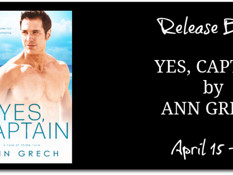 Yes, Captain by Ann Grech - Release Blitz, Excerpt, Giveaway