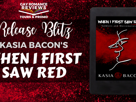 Release Blitz & Giveaway:When I First Saw Red by Kasia Bacon