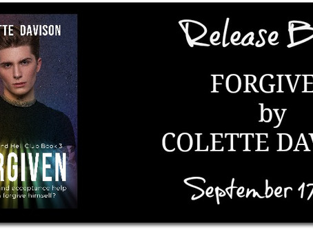 Forgiven by Colette Davison : Release Blitz with Excerpt & Giveaway