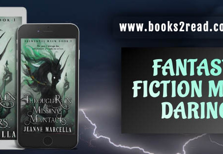Through Rain and Missing Mantaurs by Jeanne Marcella – Blog Tour, Guest Post, Excerpt, Giveaway
