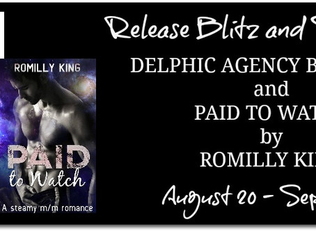 Delphic Agency Series by Romilly King - New Release & Series Tour, Excerpt, Giveaway