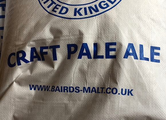 Bairds Craft Pale Ale Malt 25kg