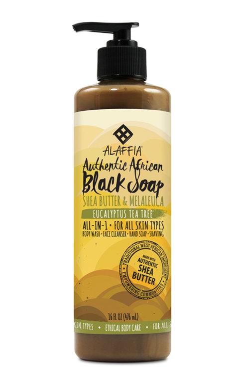 天然非洲多功能黑梘 -尤加利茶樹 476ML
