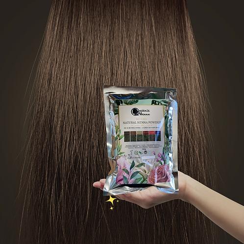天然植物染髮粉- 啡