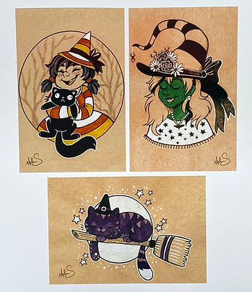 Witchy Art Set