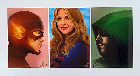 CW Heroes Art Set