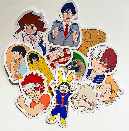 My Hero Academia Sticker Pack - Series 1