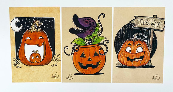Pumpkin Art Set