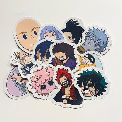 My Hero Academia Sticker Pack - Series 2