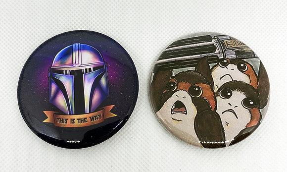 Star Wars Button Pack