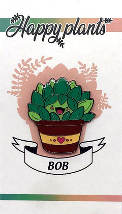 Bob the Soft Enamel Succulent Pin
